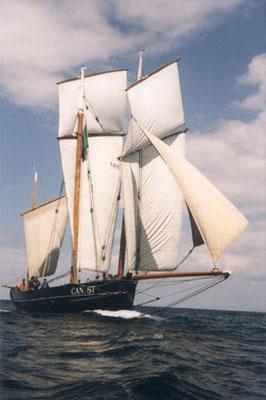 """le bateau """"la Cancalaise"""""""