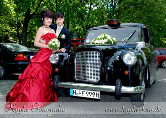 Hochzeits Fotoshooting im Botanischen Garten
