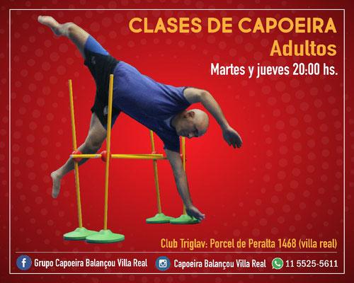 Clases de capoeira en villa real