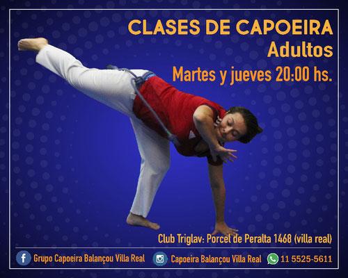 villa real capoeira