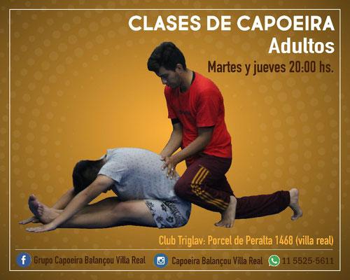 Adultos capoeira villa real
