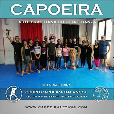 Lezioni di Capoeira Olbia