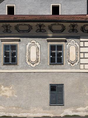 Hausfassade in der Murgasse