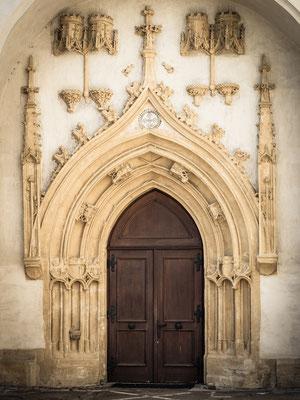 Eingangsportal Stadtpfarrkirche