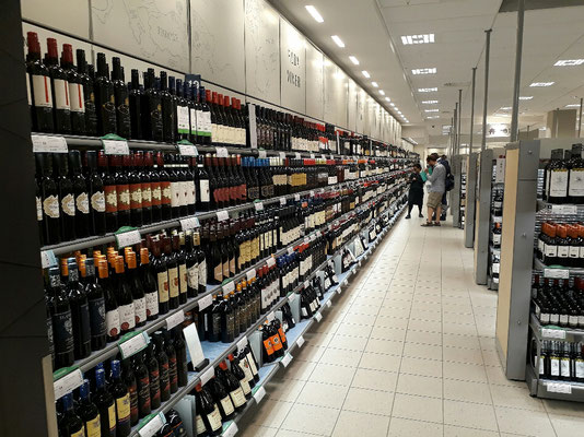 Systembolaget wine selection
