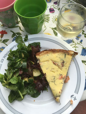 Anna's great quiche
