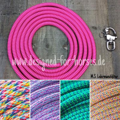 Farbauswahl für Führstricke aus PPM Premium - Seil