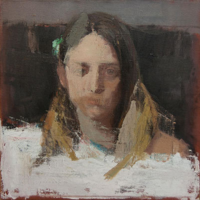 """Pilar"" - Oil/Canvas/Panel 