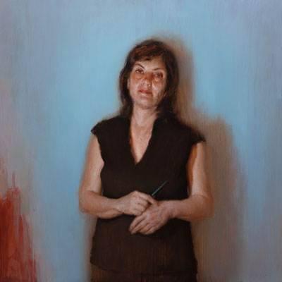 """Acto I"" - Oil/Panel 