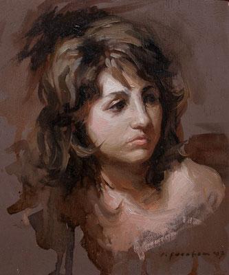 """Pilar"" - Oil/Panel | 15 x 12,5 cm | 2007"