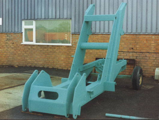 Pre-Fabricated Loader Chassis