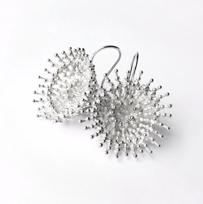 Ohrhänger Silber rund