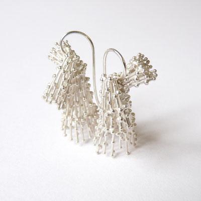 Ohrhänger Silber 3-teilig