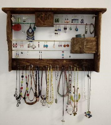 différents types de le plus en vogue en ligne ici Porte-bijoux en palettes - Atelier de Jeanne à Séville ...