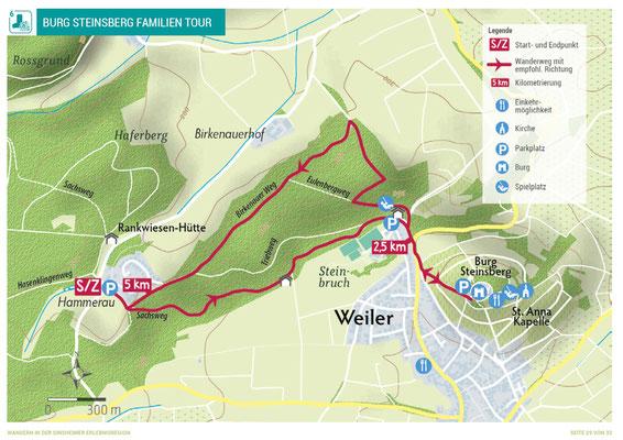 Sinsheim Wandertour zur Burg Steinsberg