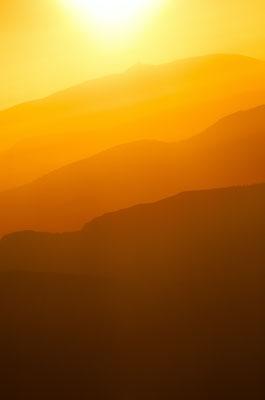 Coucher de soleil depuis Céüse