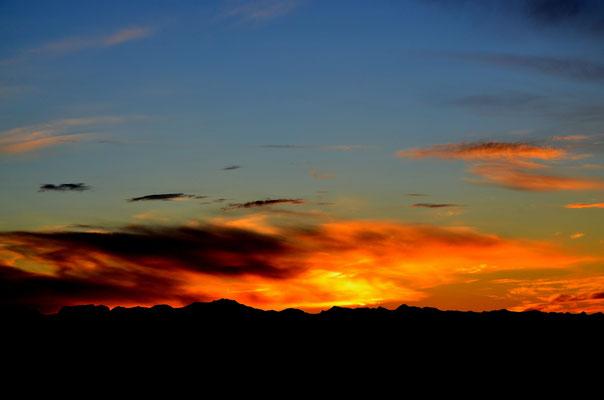 Lever de soleil, Montagne de Lure