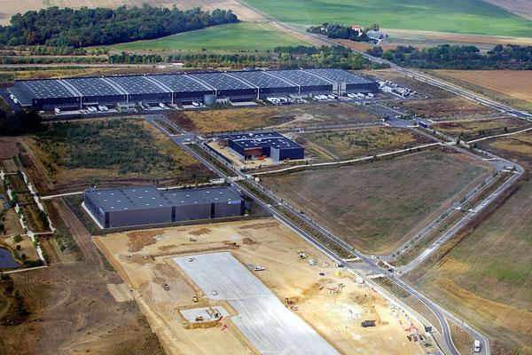 Artificialisation des sols, Île-de-France