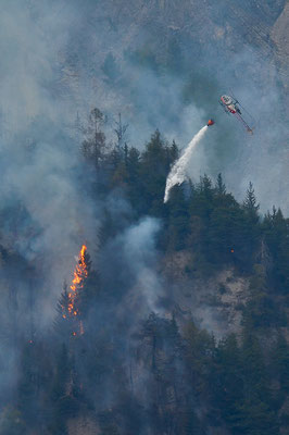Lutte contre un incendie, Suisse