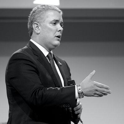Iván Duque, Président de la République de Colombie