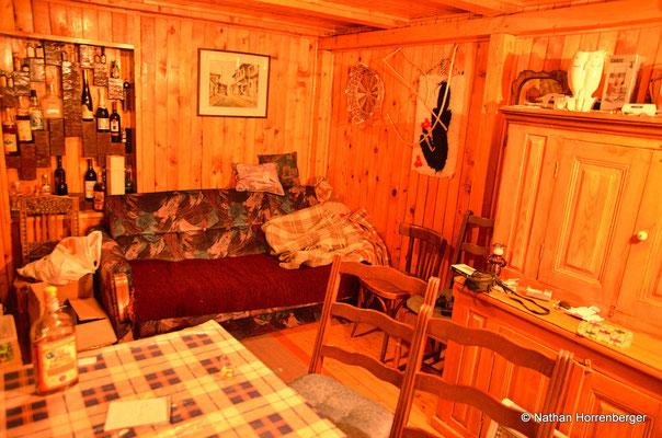 Notre camp de base à Mavrovo, type chalet montagnard