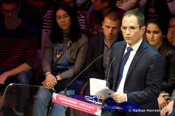 Benoit Hamon, Paris, Décembre 2018