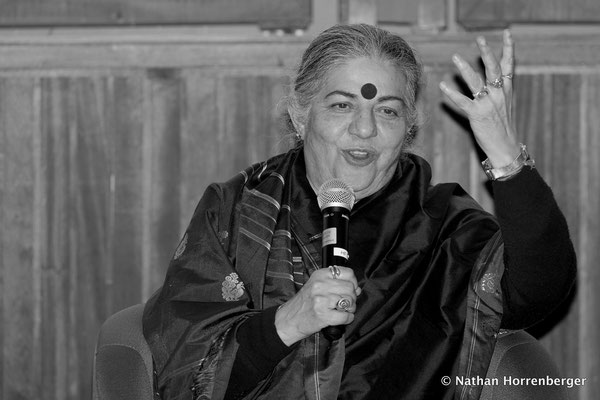 Vandana Shiva, Montpellier, Février 2018