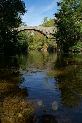 Pont sur la Vis, limite Gard / Hérault