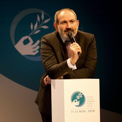 Nikol Pashinyan, Premier ministre d'Arménie