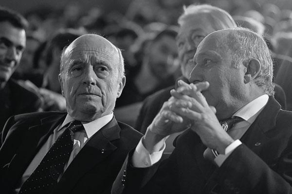 Alain Juppé & Laurent Fabius