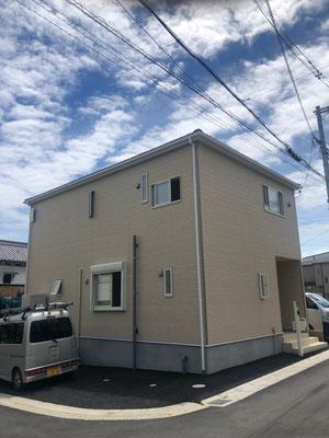 奈良県香芝市 地デジデザインアンテナ取付設置工事