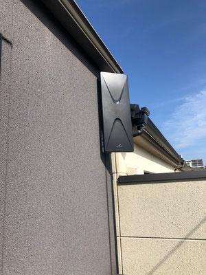大阪市城東区 地デジデザインアンテナ取付設置工事
