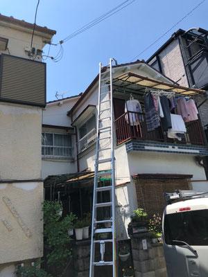 堺市 地デジヤギ式アンテナ取付設置工事