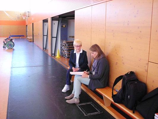 die TZ ist da mit Katja