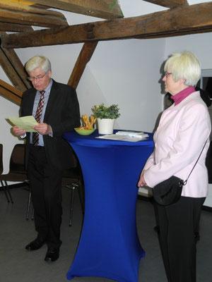 Das Rathaus Usingen begrüßt die Künstler