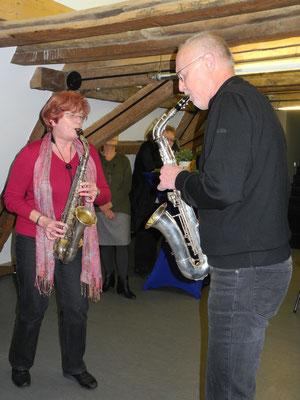 Ingrid und Werner in Aktion