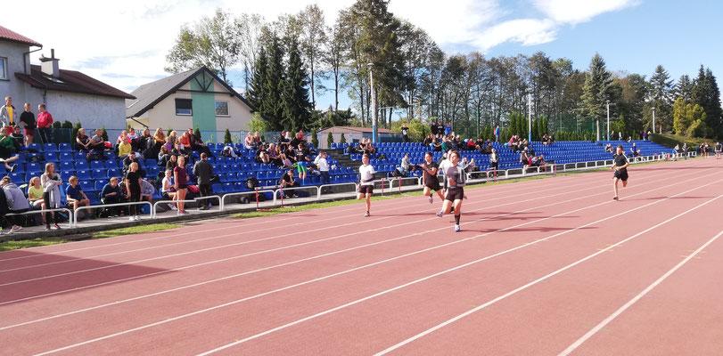 Liga Lekkoatletyczna Szkół Ponadgimnazjalnych 28.09.2018 - 100m