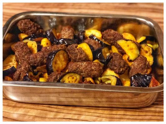 Original Izmir Koefte Rezept l tuerkische Auberginen aus dem Ofen