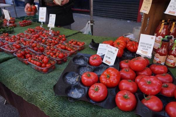 Farmers Market in London | ein Wochenmarkt in London