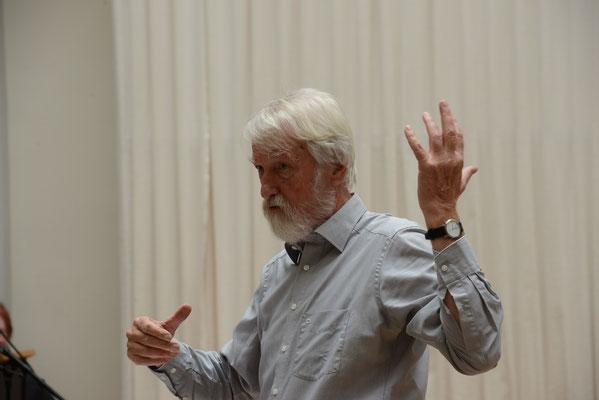 Festkonzert: Prof. Lange hochkonzentriert