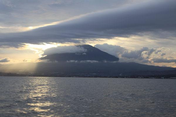 Klabat Vulkan, volcano klabat