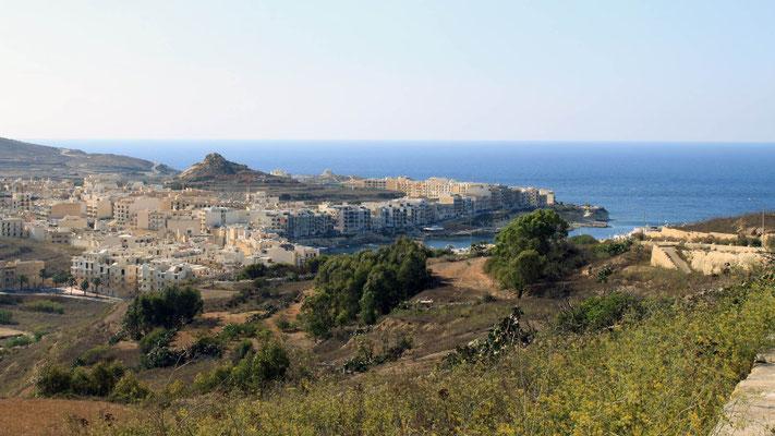 Gozo inland, Marsalforn
