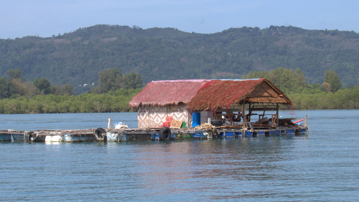 Phuket Bay, Fishermen Hut