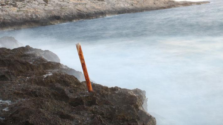 coastline near Xlendi