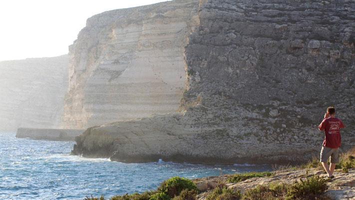 Xlendi coastline