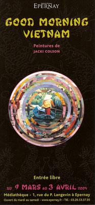 Affiche Exposition de peinture de Jacki Colson