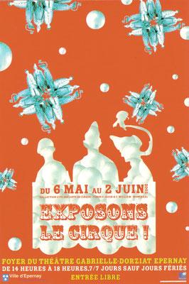 Affiche Exposition sur le cirque (peinture, sculpture...)