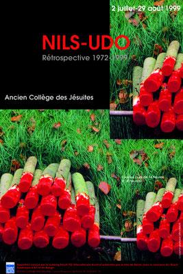 Affiche Exposition de Nils Udo - Artiste Land Art