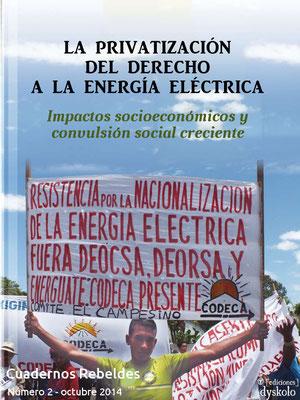 #2 [Guatemala] La privatización del derecho a la energía eléctrica