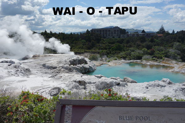 Wai O Tapu Rotorua New Zealand